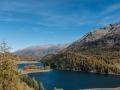 Blick Richtung St. Moritz vom Julier