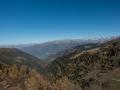 Blick ins Veltlin vom San Marco Pass